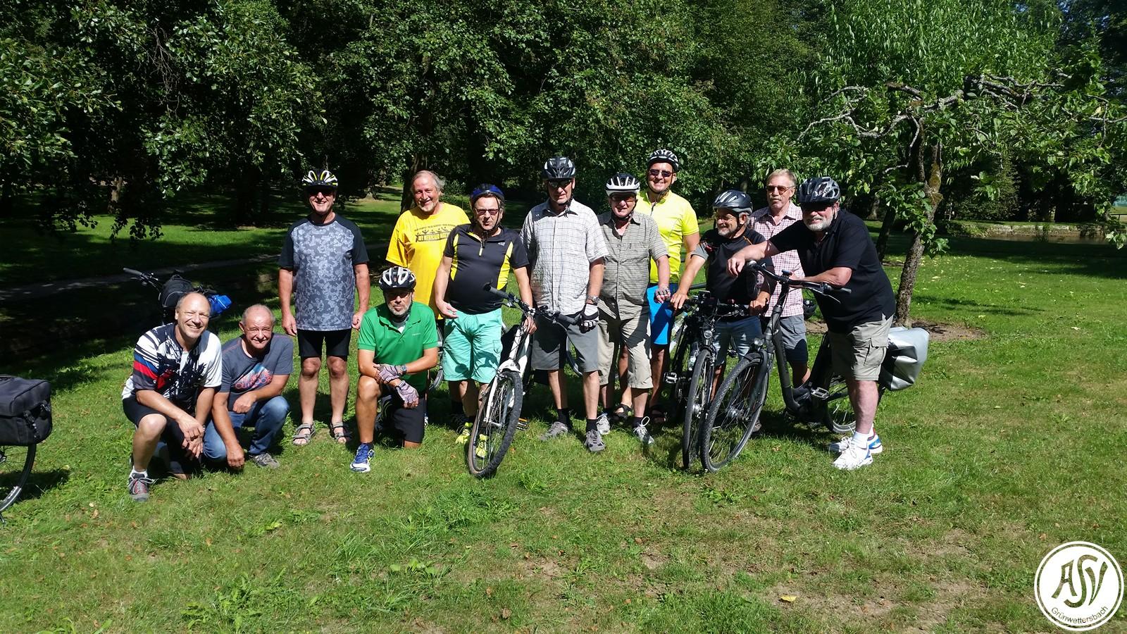 Radtour am 30.08.2016 in der Pfalz
