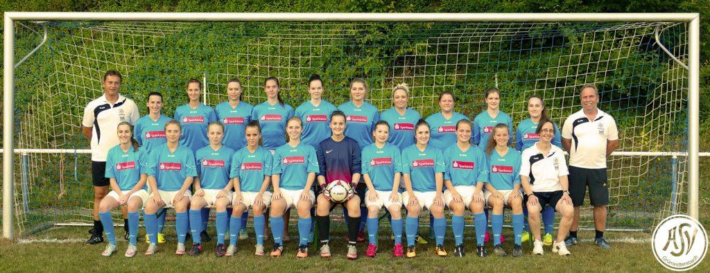 Damenfußball Mannschaft 2016
